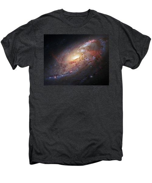 Hubble View Of M 106 Men's Premium T-Shirt