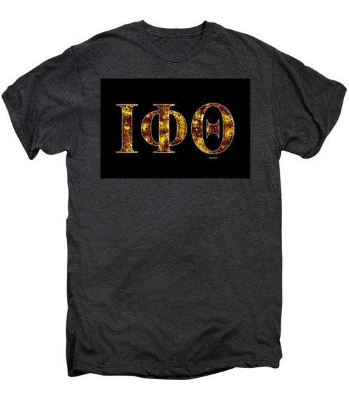 Iota Phi Theta - Black Men's Premium T-Shirt by Stephen Younts