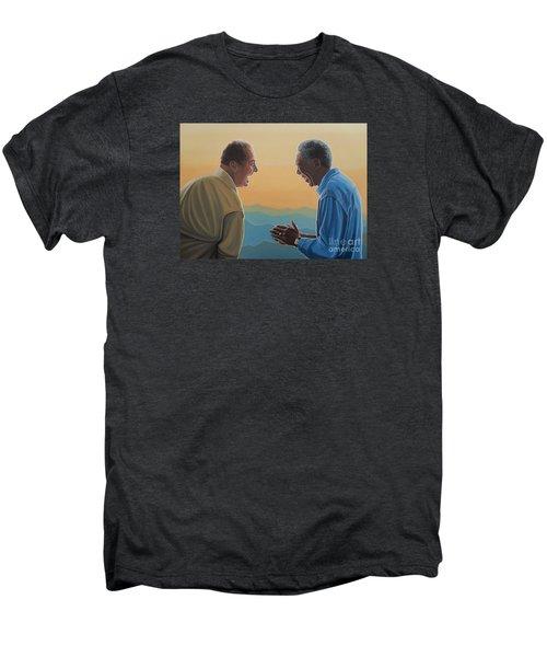 Jack Nicholson And Morgan Freeman Men's Premium T-Shirt