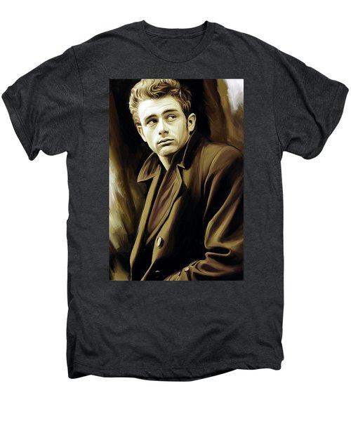 James Dean Artwork Men's Premium T-Shirt