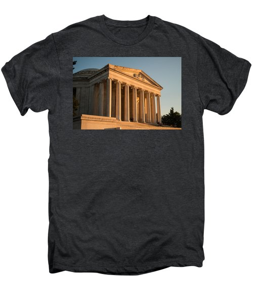 Jefferson Memorial Sunset Men's Premium T-Shirt by Steve Gadomski