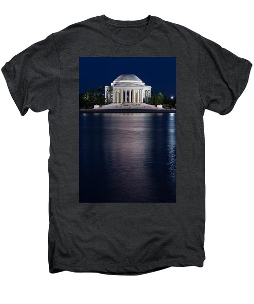 Jefferson Memorial Washington D C Men's Premium T-Shirt by Steve Gadomski