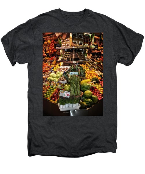 Jewels From The Market  Men's Premium T-Shirt by Mary Machare