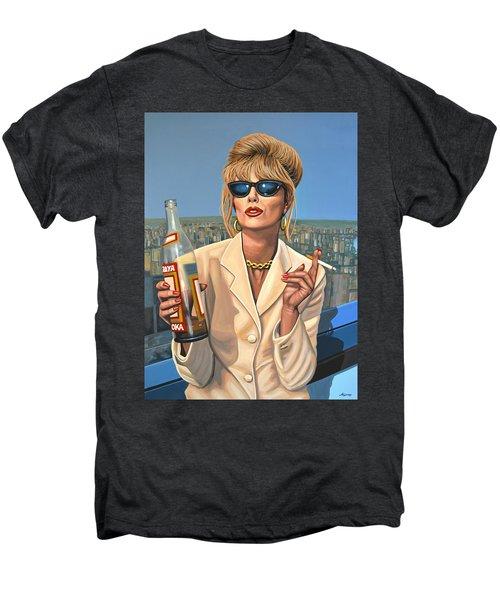 Joanna Lumley As Patsy Stone Men's Premium T-Shirt