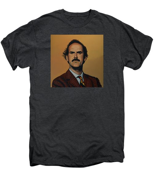 John Cleese Men's Premium T-Shirt by Paul Meijering
