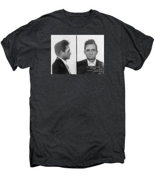 Johnny Cash Folsom Prison Large Canvas Art, Canvas Print, Large Art, Large Wall Decor, Home Decor Men's Premium T-Shirt