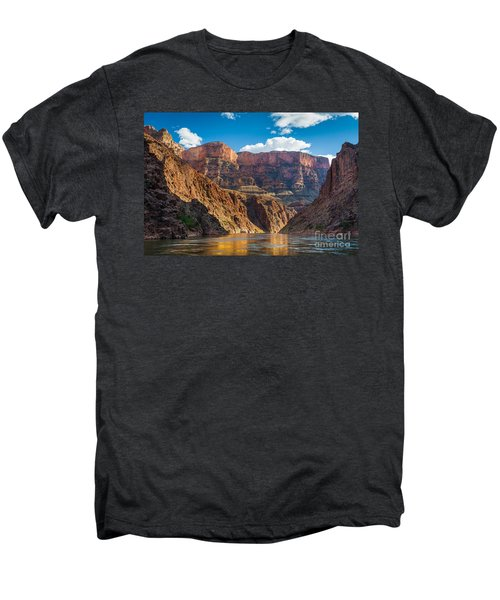 Journey Through The Grand Canyon Men's Premium T-Shirt by Inge Johnsson