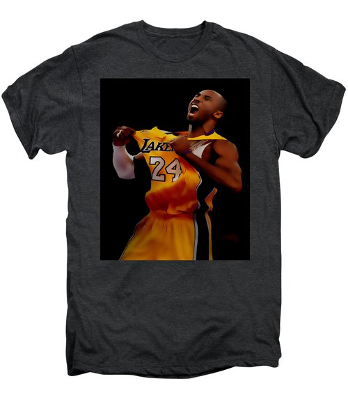 Kobe Bryant Sweet Victory Men's Premium T-Shirt by Brian Reaves