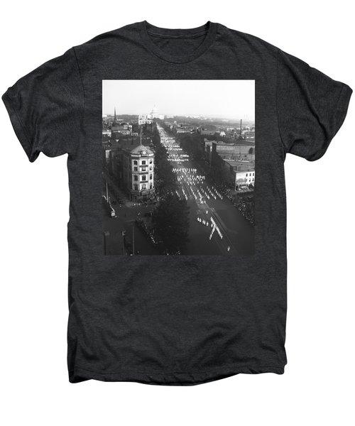 Ku Klux Klan Parade Men's Premium T-Shirt by Underwood Archives