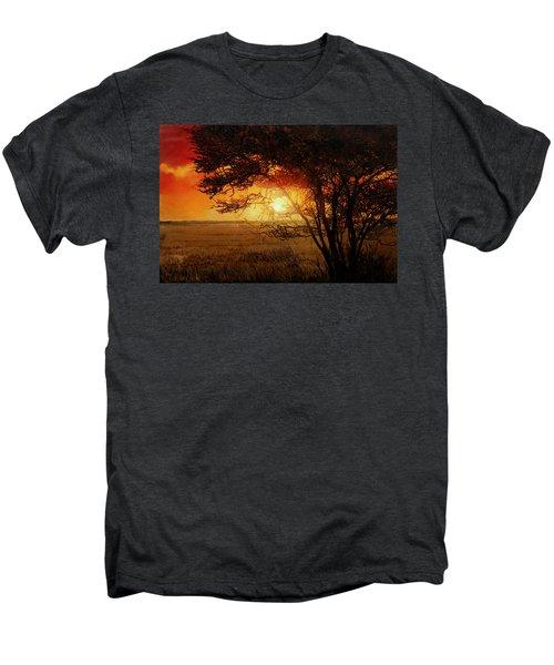 La Savana Al Tramonto Men's Premium T-Shirt