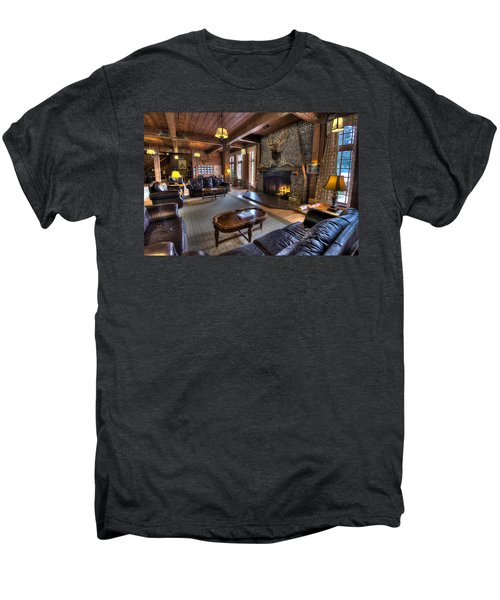 Lake Quinault Lodge Olympic National Park Men's Premium T-Shirt