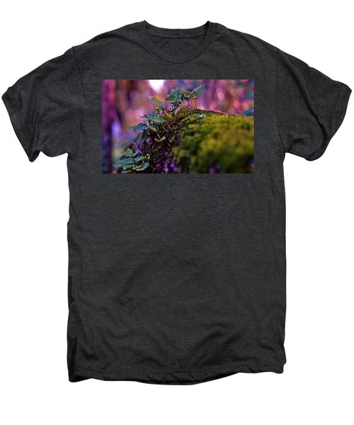 Leaves On A Log Men's Premium T-Shirt