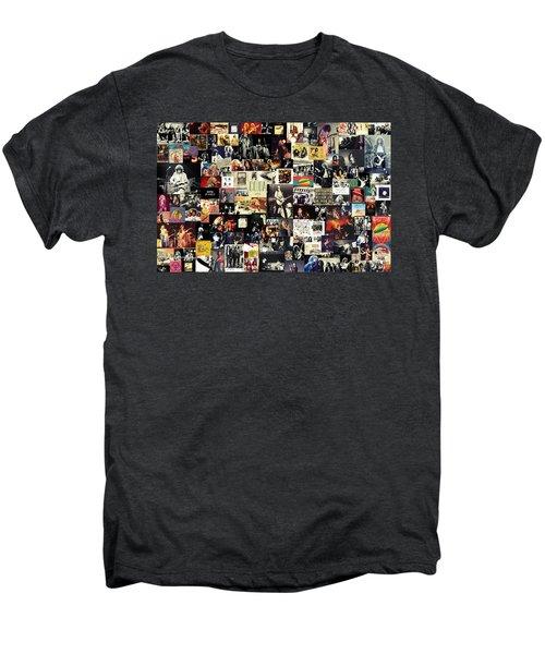 Led Zeppelin Collage Men's Premium T-Shirt by Taylan Apukovska