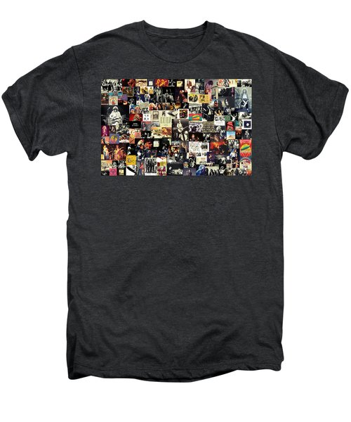 Led Zeppelin Collage Men's Premium T-Shirt