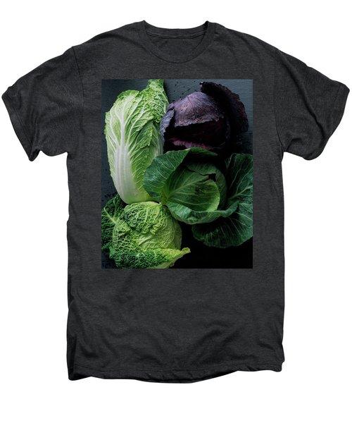 Lettuce Men's Premium T-Shirt by Romulo Yanes