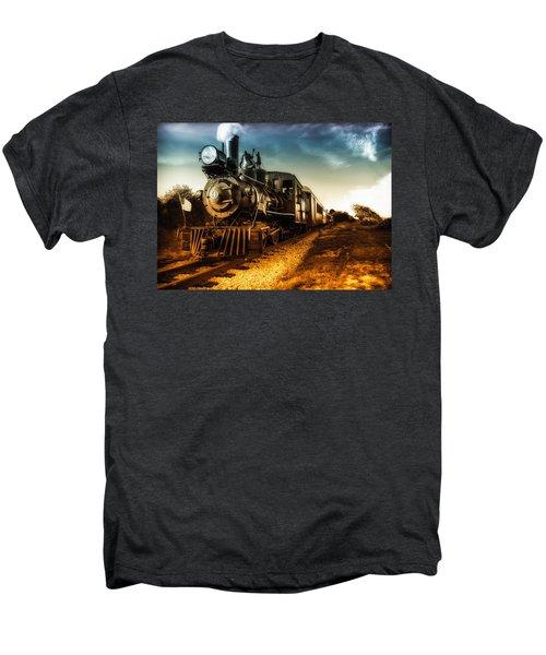 Locomotive Number 4 Men's Premium T-Shirt
