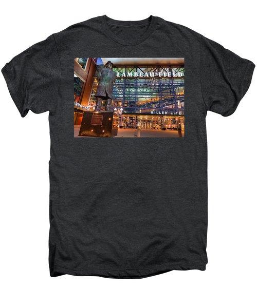 Lombardi At Lambeau Men's Premium T-Shirt by Bill Pevlor