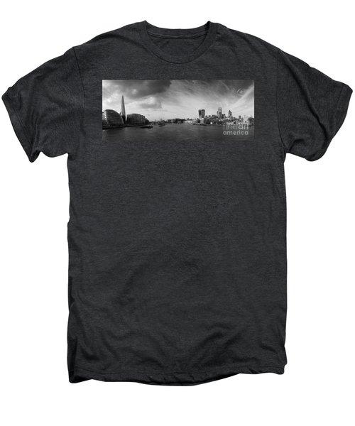 London City Panorama Men's Premium T-Shirt