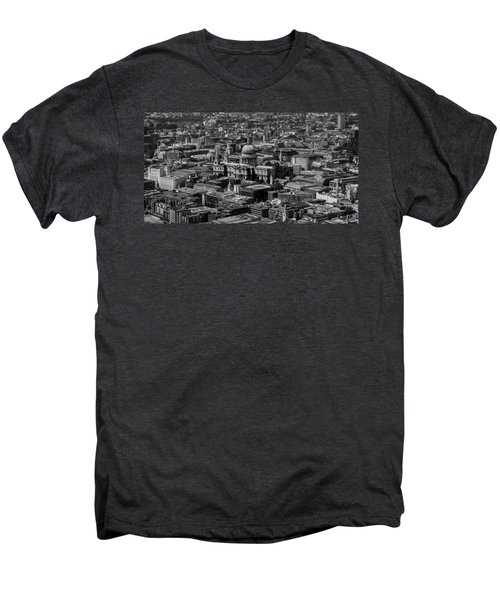London Skyline Men's Premium T-Shirt by Martin Newman