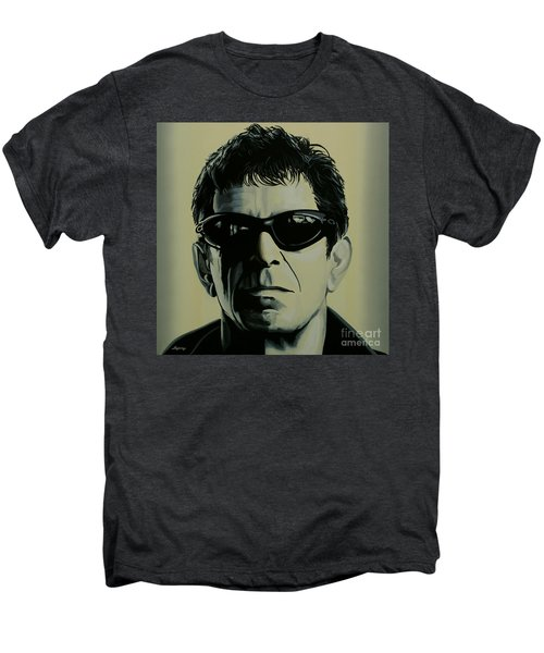 Lou Reed Painting Men's Premium T-Shirt