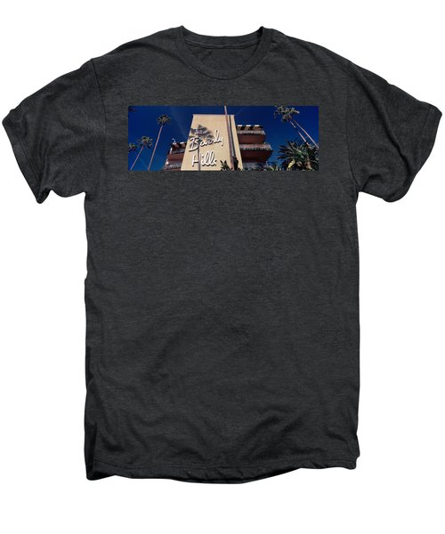 Low Angle View Of A Hotel, Beverly Men's Premium T-Shirt by Panoramic Images