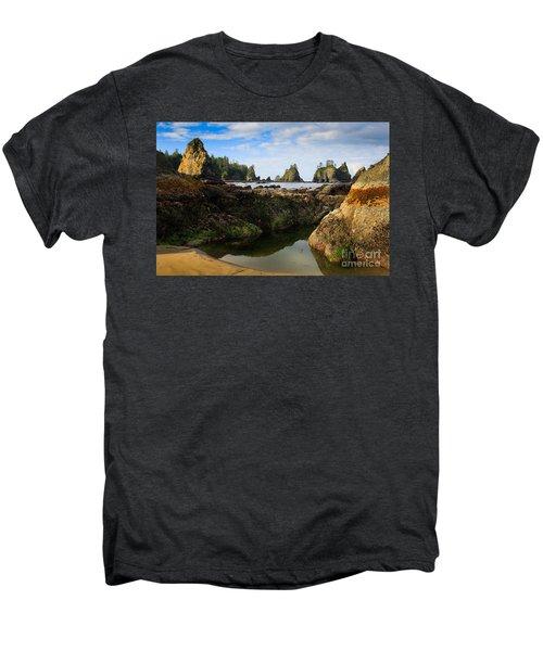 Low Tide At The Arches Men's Premium T-Shirt