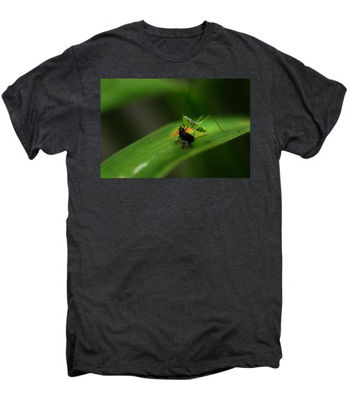 Lunch Time Men's Premium T-Shirt by Michael Eingle