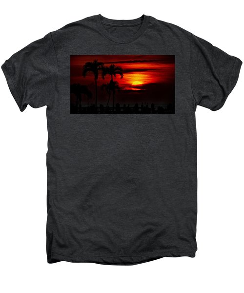 Men's Premium T-Shirt featuring the photograph Marco Island Sunset 59 by Mark Myhaver