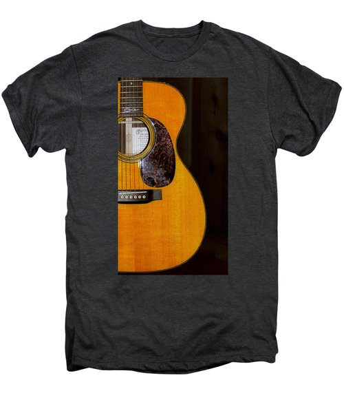 Martin Guitar  Men's Premium T-Shirt by Bill Cannon
