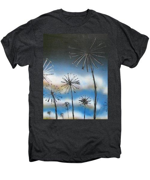 Meadow At Dawn Men's Premium T-Shirt