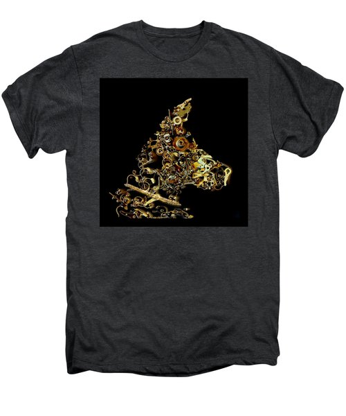 Mechanical - Dog Men's Premium T-Shirt