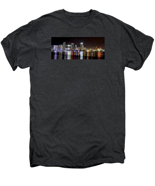 Miami - Florida  Men's Premium T-Shirt by Brendan Reals