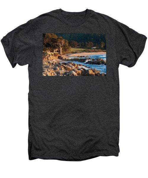 Monastery Beach In Carmel California Men's Premium T-Shirt