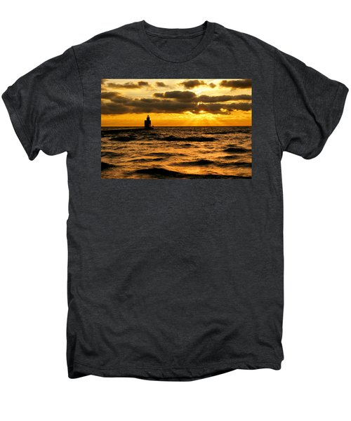 Moody Morning Men's Premium T-Shirt by Bill Pevlor