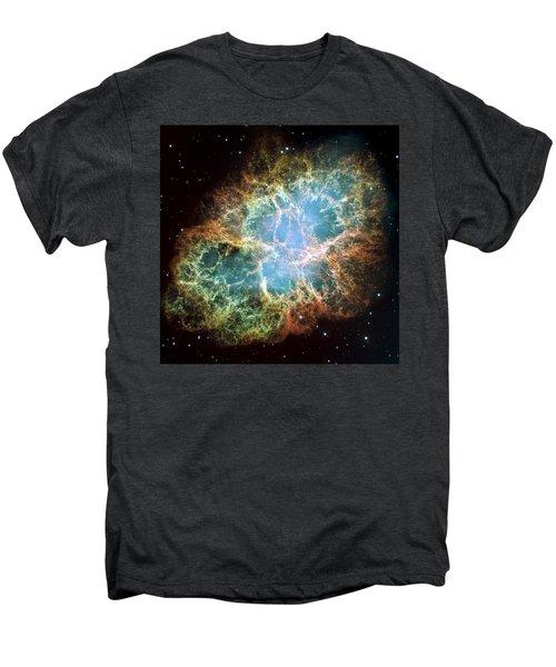 Most Detailed Image Of The Crab Nebula Men's Premium T-Shirt