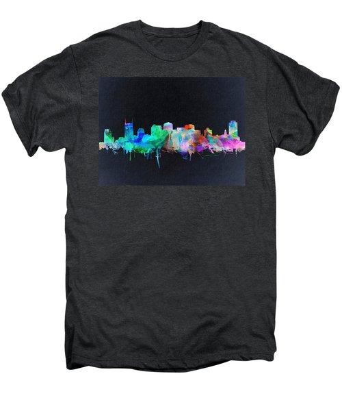 Nashville Skyline Watercolor 10 Men's Premium T-Shirt
