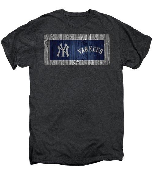 New York Yankees Barn Door Men's Premium T-Shirt by Dan Sproul