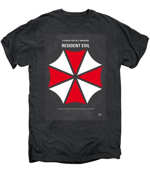 No119 My Resident Evil Minimal Movie Poster Men's Premium T-Shirt by Chungkong Art