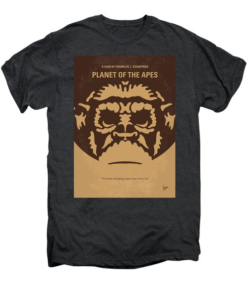 No270 My Planet Of The Apes Minimal Movie Poster Men's Premium T-Shirt