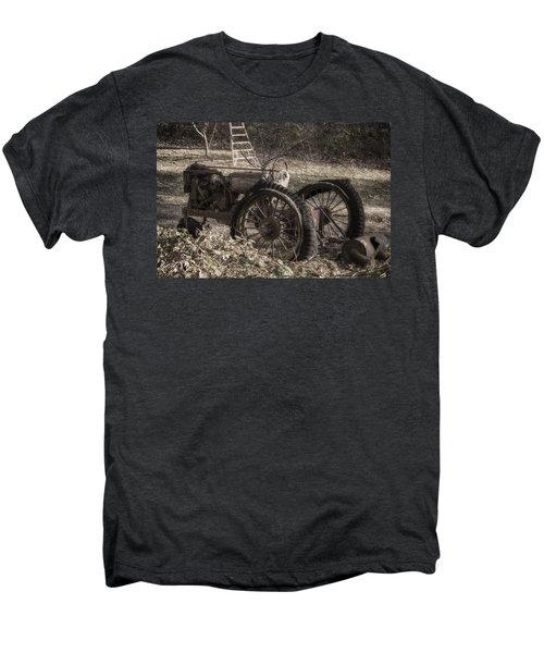 Old Tractor Men's Premium T-Shirt by Lynn Geoffroy