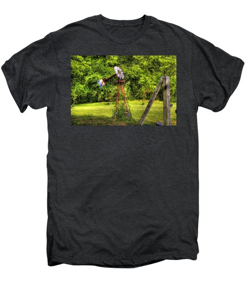 Old Windmill Men's Premium T-Shirt