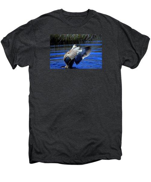 Men's Premium T-Shirt featuring the photograph Pacific Black Duck by Miroslava Jurcik