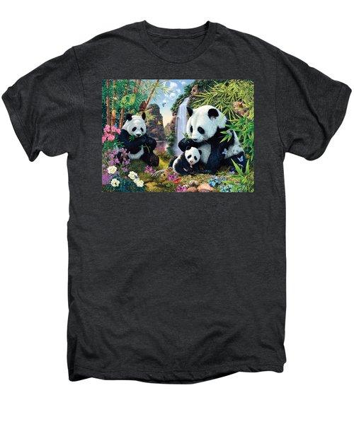 Panda Valley Men's Premium T-Shirt