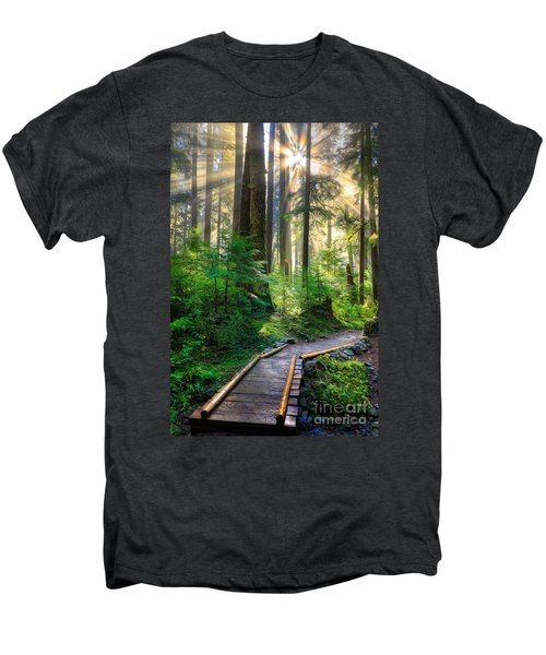 Pathway Into The Light Men's Premium T-Shirt