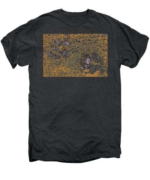 Paw Prints With A Tinge Of Lilac Men's Premium T-Shirt