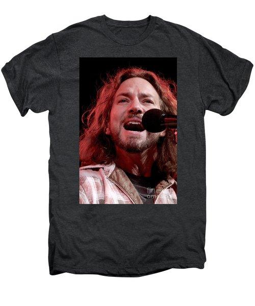 Pearl Jam Men's Premium T-Shirt by Concert Photos