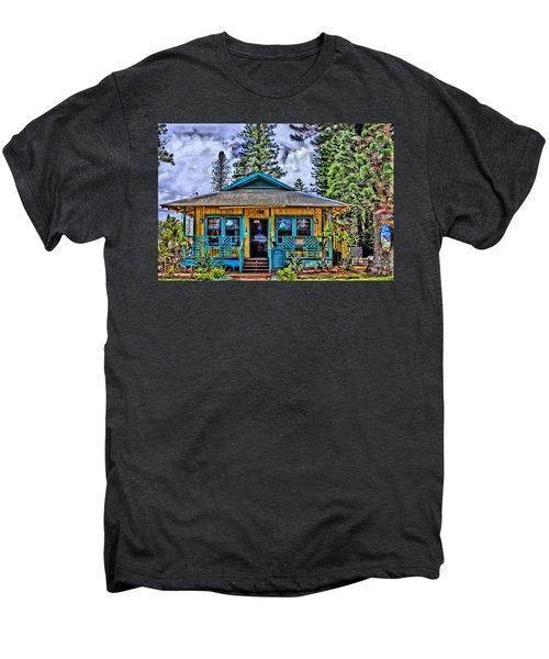 Pele's Lanai Island Hawaii Men's Premium T-Shirt by DJ Florek