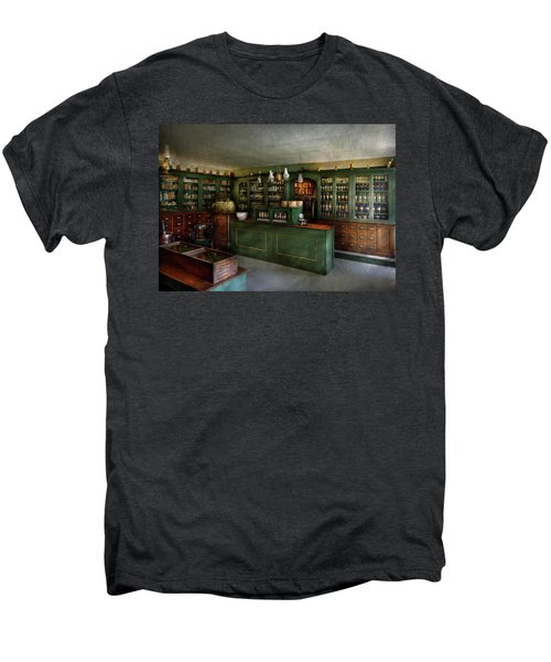 Pharmacy - The Chemist Shop  Men's Premium T-Shirt