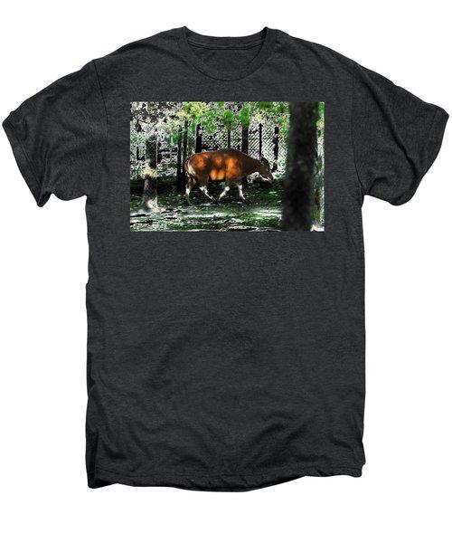 Phenomena Of Banteng Walk Men's Premium T-Shirt by Miroslava Jurcik