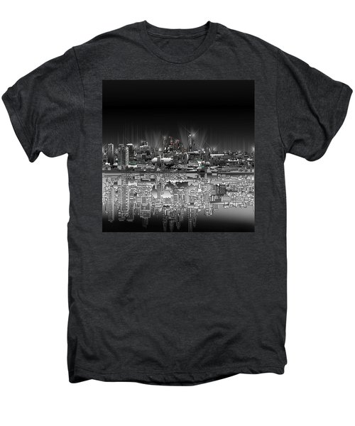 Philadelphia Skyline  Gradient Men's Premium T-Shirt